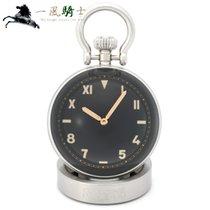 Panerai Table Clock Steel 65mm Black