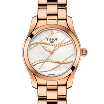 Tissot T-Wave Steel 30mm Mother of pearl No numerals United States of America, Massachusetts, Florence