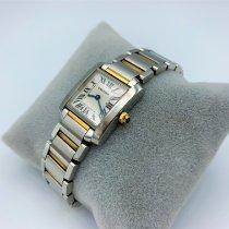 Cartier Goud/Staal 20mm Quartz 2384 tweedehands