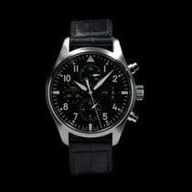 IWC Pilot Chronograph IW377701 Good Steel 43mm Automatic Malaysia