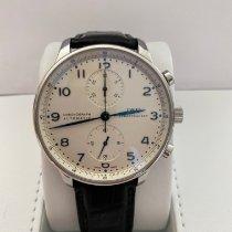 IWC Portuguese Chronograph Acier 41mm Blanc Arabes France, Belleville en Beaujolais