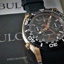 Bulova Precisionist Gold/Steel 48mm Black