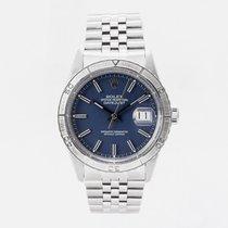 Rolex Datejust Turn-O-Graph Stål 36mm Blå