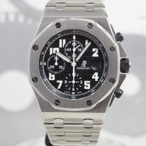 Audemars Piguet Royal Oak Offshore Chronograph Acier 42mm Noir Arabes France, Cannes