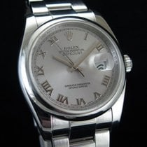 Rolex Datejust Acier 36mm Gris France, Paris
