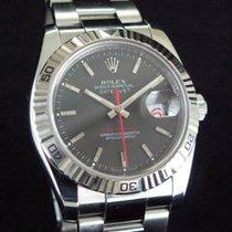 Rolex Datejust Turn-O-Graph Acier 36mm Gris Sans chiffres France, Paris