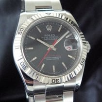 Rolex Datejust Turn-O-Graph Steel 36mm Grey No numerals