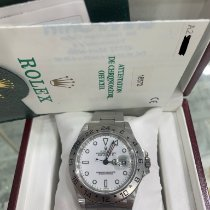Rolex 16570 Steel 1999 Explorer II 40mm pre-owned United States of America, New York, New York