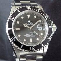 Rolex Submariner Date Ocel 40mm Černá Bez čísel