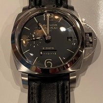 Panerai Luminor 1950 8 Days GMT Steel 44mm Black Arabic numerals United States of America, Virginia, Chantilly