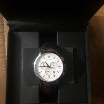 Movado Circa Staal 42mm Wit