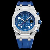 Audemars Piguet Royal Oak Offshore Chronograph Сталь 42mm Синий Aрабские Россия, Moscow
