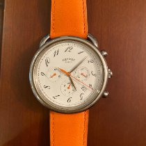 Hermès Arceau Steel 43mm White Arabic numerals United States of America, Texas, Houston