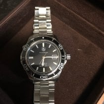 TAG Heuer Aquaracer 500M Steel 41mm Black No numerals United States of America, Ohio, hudson