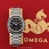 Omega Seamaster 300 occasion 39mm Noir Date Affichage des années Acier