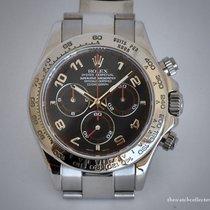 Rolex 116509 Or blanc 2015 Daytona 40mm