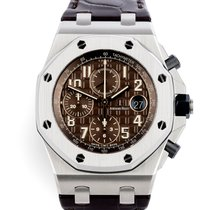 Audemars Piguet Royal Oak Offshore Chronograph Steel 42mm Brown