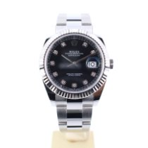 Rolex Datejust Steel 41mm Black No numerals United Kingdom, London