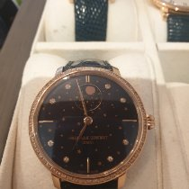 Frederique Constant Manufacture Slimline Moonphase occasion Phase lunaire Cuir