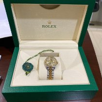 Rolex Lady-Datejust Gold/Steel 170mm Champagne Indonesia, 12810