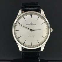 Jaeger-LeCoultre Steel Automatic Silver No numerals 41mm pre-owned Master Ultra Thin