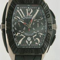 Franck Muller Conquistador GPG Steel 42mm Black Arabic numerals