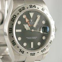 Rolex Explorer II 216570 Sehr gut Stahl 41mm Automatik