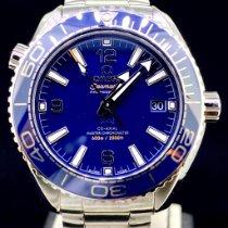 Omega Seamaster Planet Ocean Acier 39.5mm Bleu Arabes Belgique, Antwerpen
