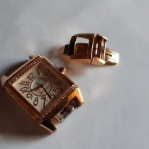 Jaeger-LeCoultre Reverso Squadra Lady Duetto Roségold 42mm Silber Arabisch