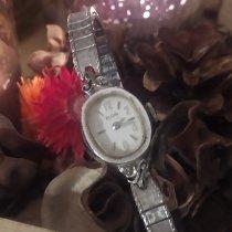 Elgin Reloj de dama 18mm Cuerda manual usados Solo el reloj 1971