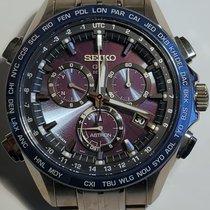 Seiko Astron GPS Solar Chronograph Titanium 44.6mm Blue No numerals United States of America, Florida, Estero