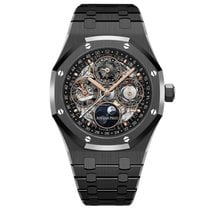 Audemars Piguet Royal Oak Perpetual Calendar Ceramic 41mm Transparent United States of America, New York, New York