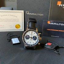 Hamilton Intra-Matic Zeljezo 40mm Bjel Bez brojeva