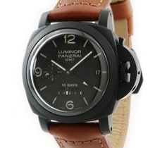 Panerai Luminor 1950 10 Days GMT Titanio Marrón