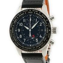 IWC Pilot Chronograph Fekete