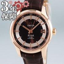 Omega De Ville Hour Vision Roodgoud 41mm Bruin