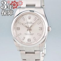 Rolex Oyster Perpetual 34 Ατσάλι 34mm Ασημί