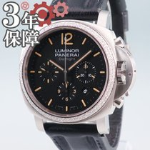 沛納海 Luminor Chrono 鋼 44mm 黑色