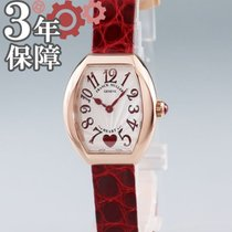 Franck Muller Heart Rose gold 26mm Silver