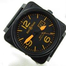 Bell & Ross BR 01-96 Grande Date Acero 46mm Negro Arábigos