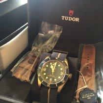 튜더 블랙 베이 브론즈 신규 2018 자동 시계 및 정품 박스와 서류 원본 79250BB