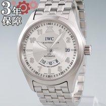 IWC Pilot Spitfire UTC Acero 39mm Blanco