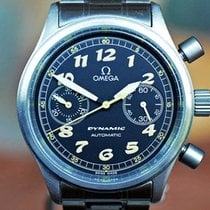 Omega Dynamic Chronograph Stål 10mm Svart