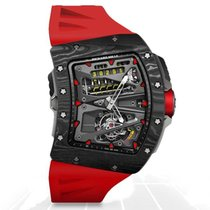 Richard Mille Carbon 55mm Manual winding RM70-01 CA new