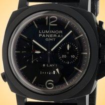 Panerai Luminor 1950 8 Days Chrono Monopulsante GMT 44mm Black Arabic numerals United States of America, Illinois, Northfield