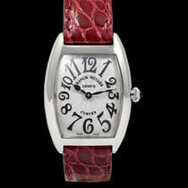 Franck Muller Cintrée Curvex Steel 25mm White United States of America, California, Burlingame