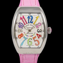 Franck Muller Steel 32mm Automatic V 32 SC AT FO AC COL DRM (RS)  COL DRM new United States of America, California, Burlingame