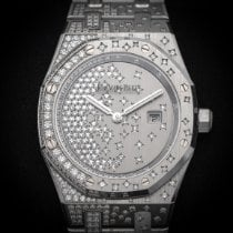 Audemars Piguet Royal Oak Lady Or blanc 33mm Or (massif) Sans chiffres