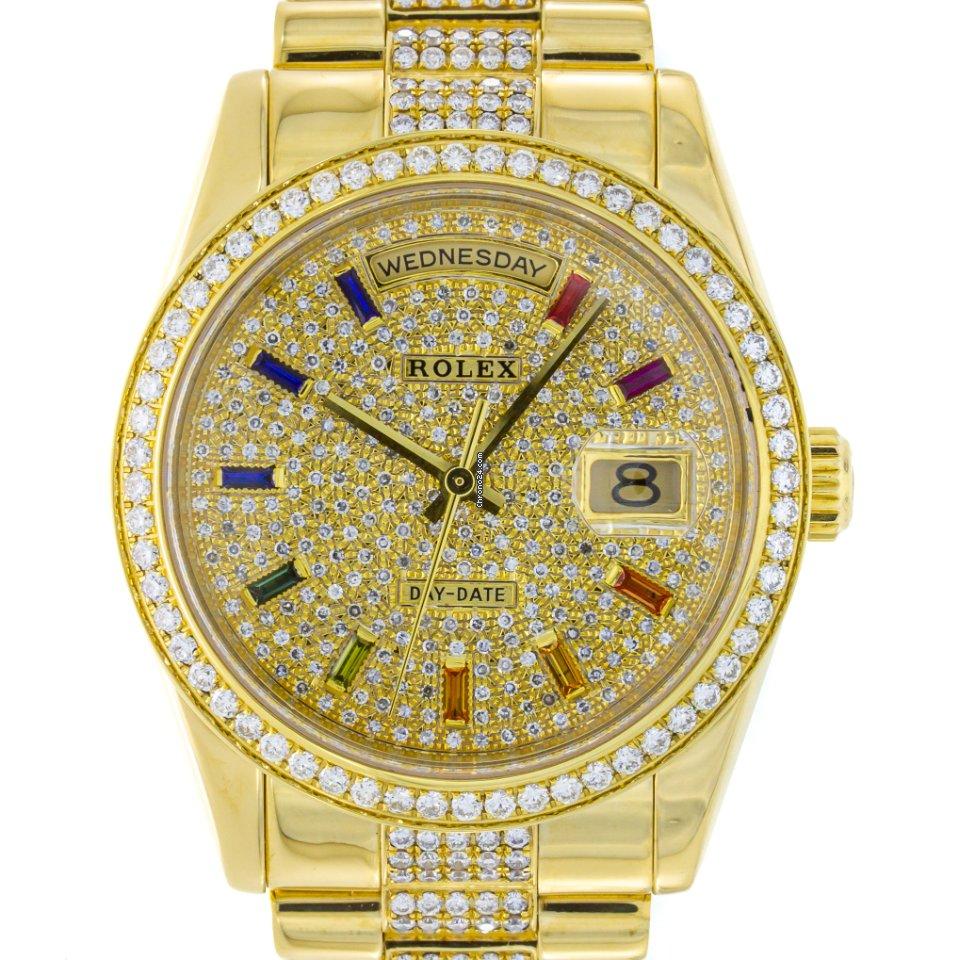 Rolex Day-Date 36 118238 2002 подержанные