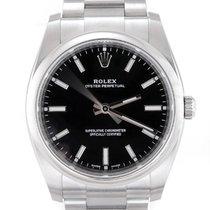Rolex Oyster Perpetual 34 Steel 34mm Black